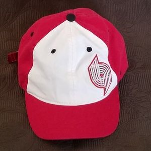 Portland Trail Blazer Red/Black/White Hat/Cap